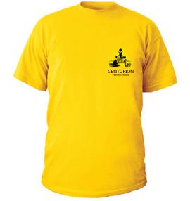 T-Shirt mit kleinem Logo